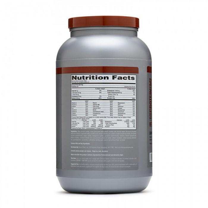 Isopure Low Carb Proteina izolata din zer cu aroma de ciocolata (1360 grame), GNC