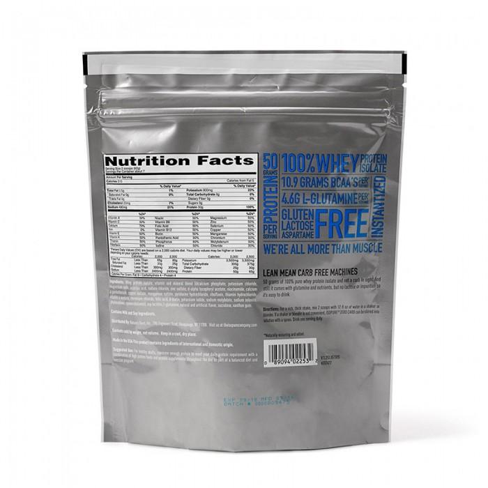 Isopure Zero Carb Proteina izolata din zer fara carbohidrati cu aroma de vanilie (454 grame), GNC