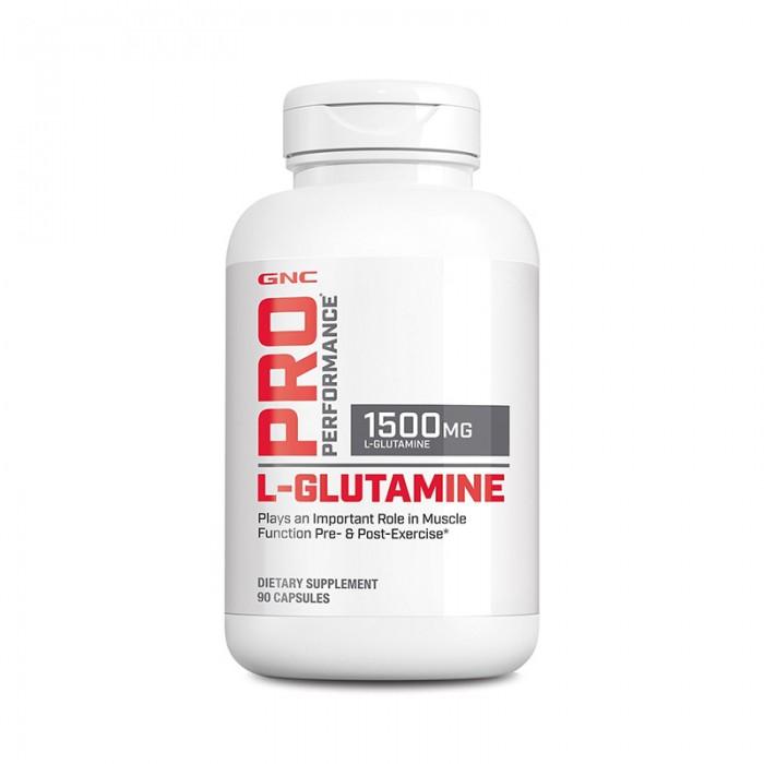 L-Glutamina 1500 mg (90 capsule), GNC Pro Performance