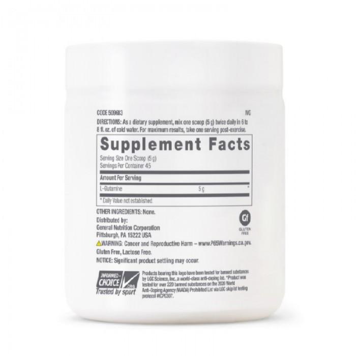 L-Glutamina 5000 mg (225 grame), GNC Pro Performance