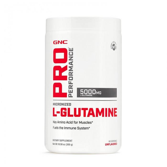 L-Glutamina 5000 mg fara aroma (300 grame), GNC Pro Performance