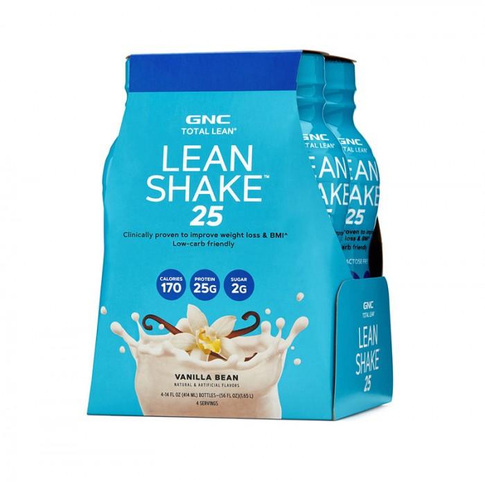 Lean Shake 25 cu aroma de vanilie (414 ml), GNC Total Lean