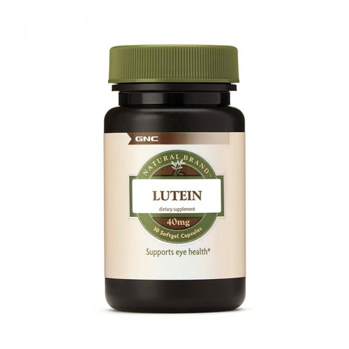 Luteina 40 mg (30 capsule), GNC Natural Brand