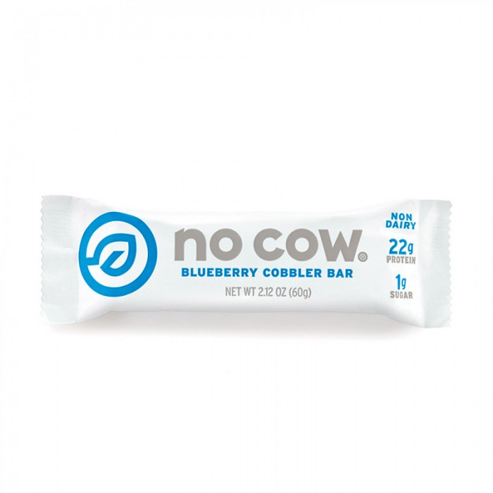 No Cow Baton proteic cu aroma de afine (60 grame), GNC