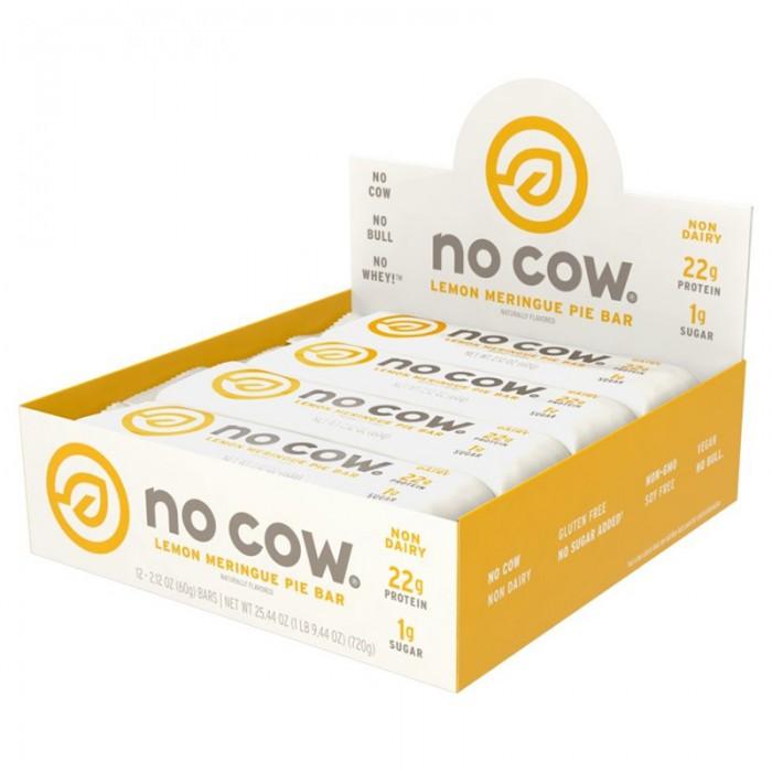 No Cow Baton proteic cu aroma de placinta de lamaie (60 grame), GNC