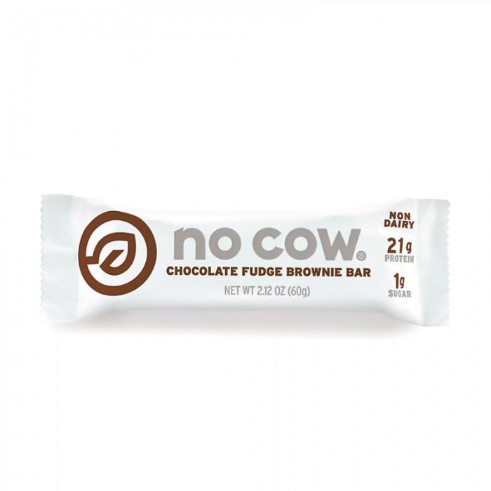 No Cow Baton proteic cu aroma de prajitura cu ciocolata (60 grame), GNC