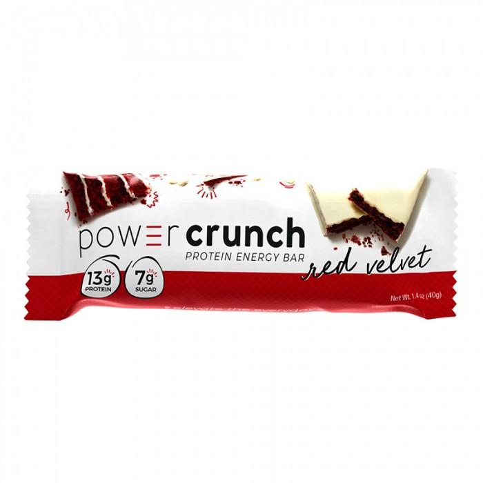Power Crunch Napolitana proteica cu aroma de Red Velvet (40 grame), GNC
