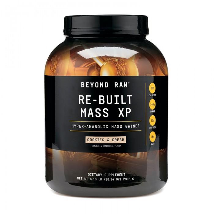 Re-Built Mass XP Proteina din zer cu aroma de biscuiti si frisca (2805 grame), GNC Beyond Raw