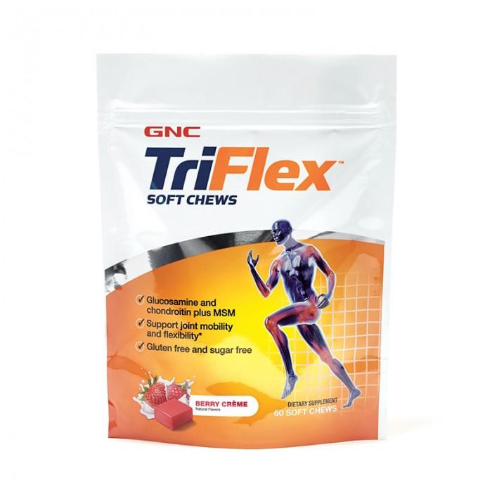Triflex Caramele cu aroma de fructe de padure (60 caramele), GNC