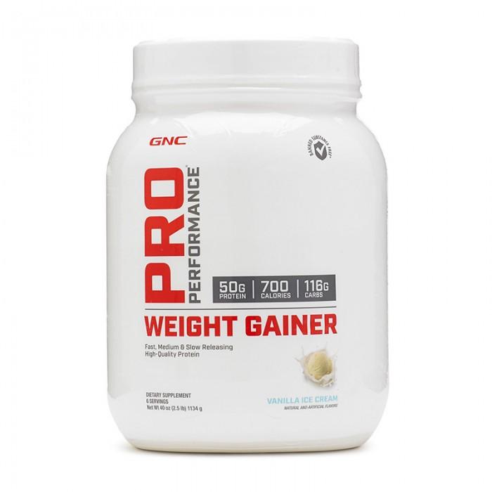 Weight Gainer cu aroma de vanilie (1134 grame), GNC Pro Performance