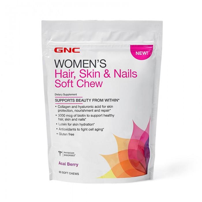 Women's formula pentru par, piele si unghii cu aroma de acai berry (60 caramele), GNC