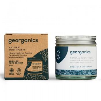 Pasta de dinti minerala English Peppermint (60 ml), Georganics