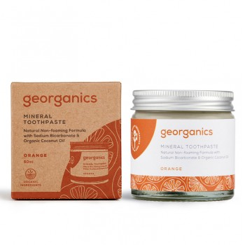 Pasta de dinti minerala Orange (60 ml), Georganics