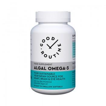 Algal Omega-3 (30 capsule moi), Good Routine