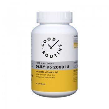 Daily-D3 2000IU (60 capsule moi), Good Routine