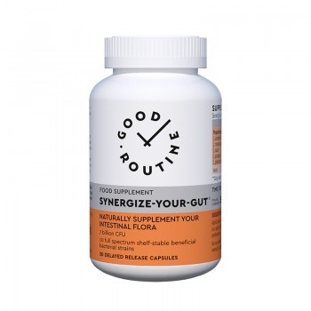 Synergize-Your-Gut (30 capsule vegetale), Good Routine