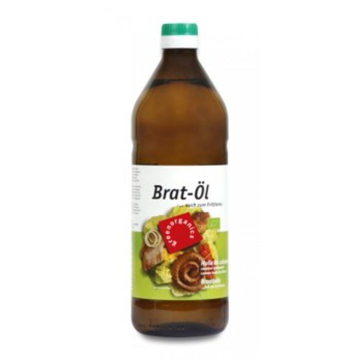 Ulei pentru prajit de floarea soarelui bio (750 ml)