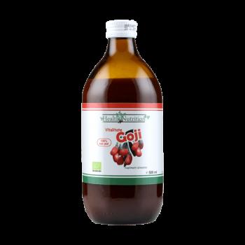 Goji (Lycium barbarum) suc bio 100% pur (500 ml), Health Nutrition