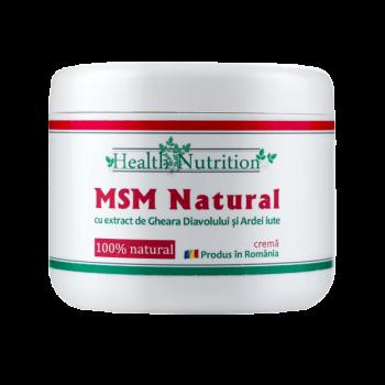MSM natural - crema (200 ml), Health Nutrition