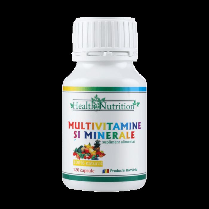Multivitamine si Minerale (120 capsule), Health Nutrition
