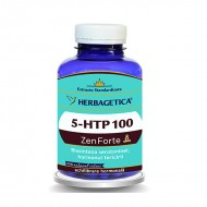 5 HTP 100 Zen Forte (120 capsule), Herbagetica