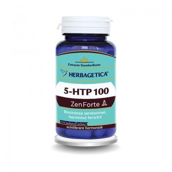 5 HTP 100 Zen Forte (60 capsule), Herbagetica