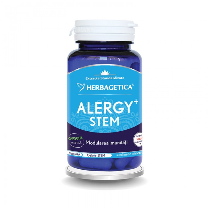 Alergy Stem (60 capsule), Herbagetica