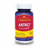 Artro Curcumin 95 (30 capsule), Herbagetica