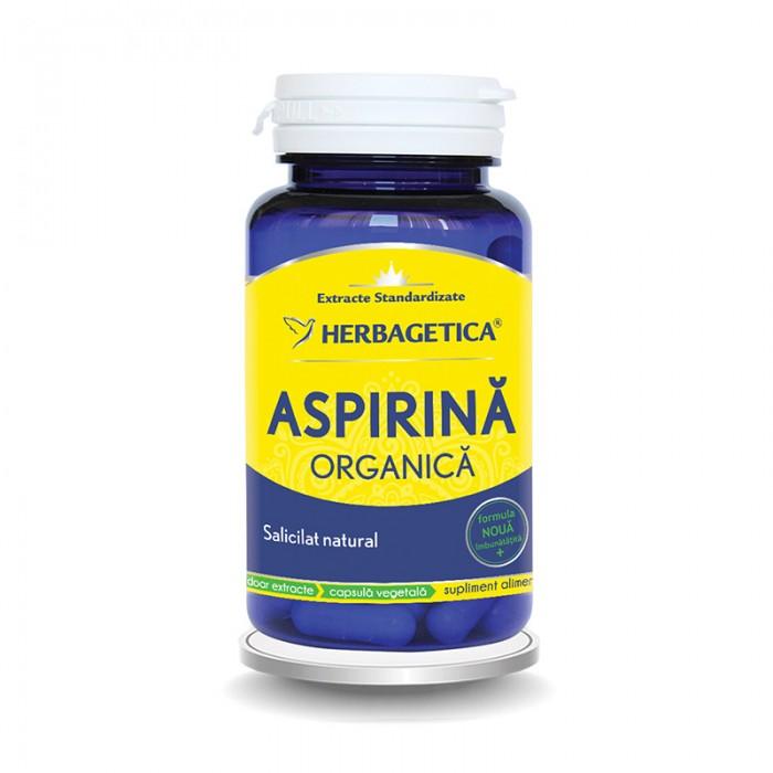 Aspirina Organica (30 capsule), Herbagetica