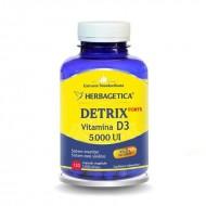 Detrix Forte Vitamina D3 5000 UI (120 capsule), Herbagetica