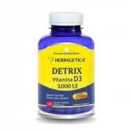 Detrix Vitamina D3 3000 UI (120 capsule), Herbagetica