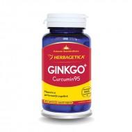 Ginkgo Curcumin 95 (60 capsule), Herbagetica