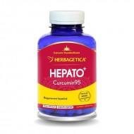 Hepato Curcumin 95 (120 capsule), Herbagetica