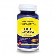 Iod Natural (60 capsule), Herbagetica