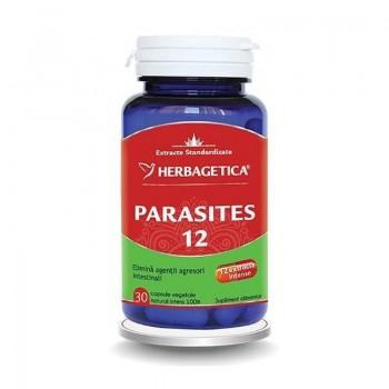 Parasites 12 Detox Forte (30 capsule), Herbagetica