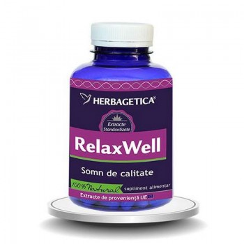 Relax Well (120 capsule), Herbagetica
