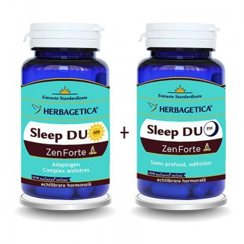 Sleep Duo AM/PM  (30 capsule + 30 capsule), Herbagetica