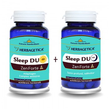 Sleep Duo AM/PM  (60 capsule + 60 capsule), Herbagetica