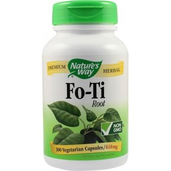 Fo-Ti 610 mg (100 capsule vegetale), Nature's Way