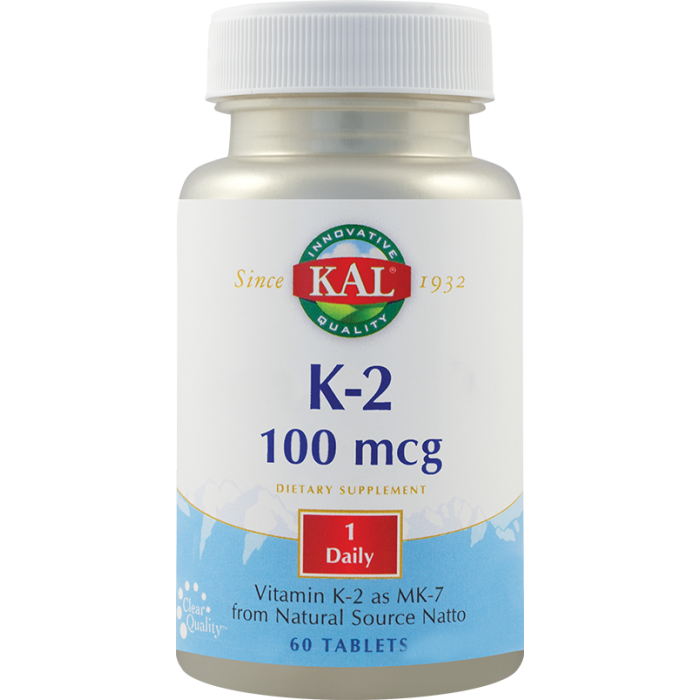 Vitamin K-2 100mcg (30 tablete)