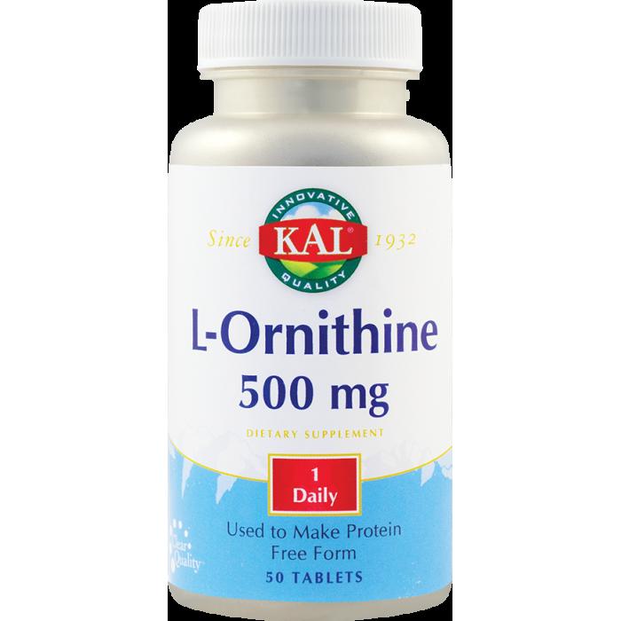 L-Ornithine 500 mg  (50 capsule)