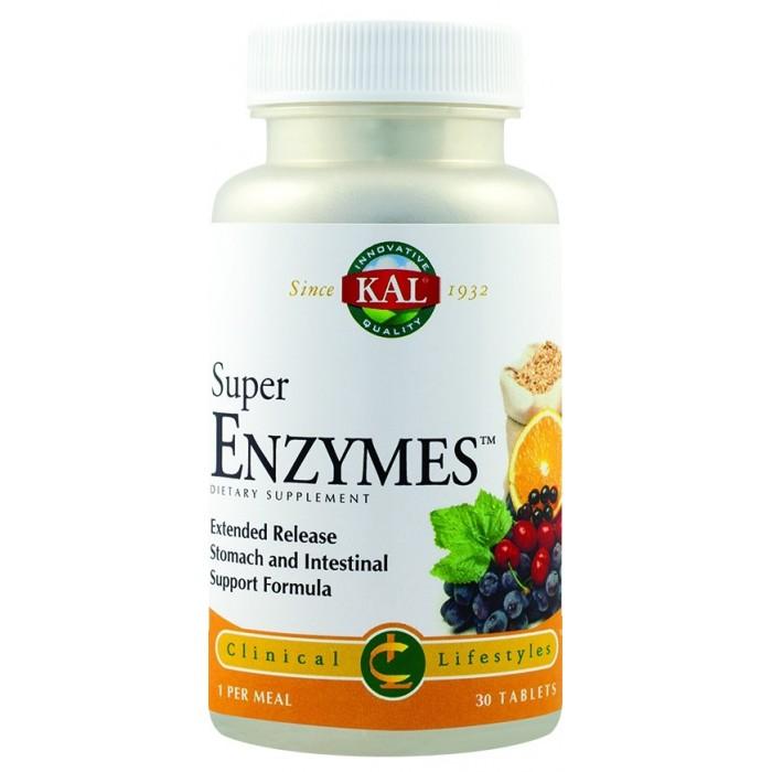 Super Enzymes (30 capsule), Secom