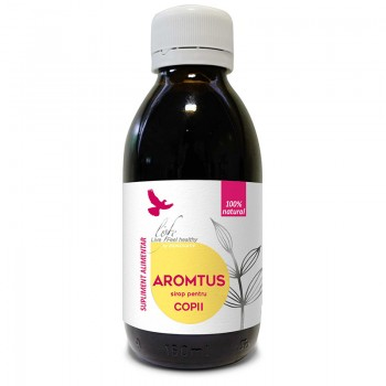 Aromtus sirop pentru copii (150 ml), Life Bio