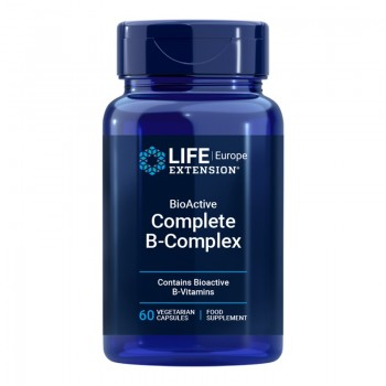 Complex BioActive B Complete (60 capsule), LifeExtension