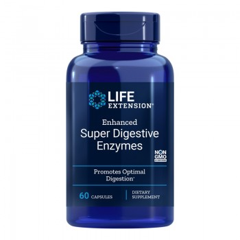 Enhanced Super Digestive Enzymes (60 capsule), LifeExtension
