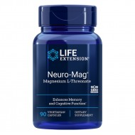 Neuro-Mag Magneziu L-Threonate (90 capsule), LifeExtension