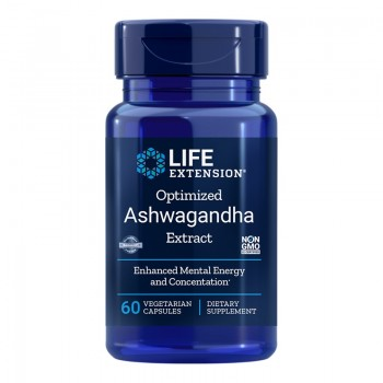 Optimised Ashwagandha Extract (60 capsule), LifeExtension