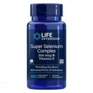Super Selenium Complex cu Vitamina E (100 capsule), LifeExtension