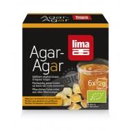 Agar Agar pudra bio (6x2 grame), Lima