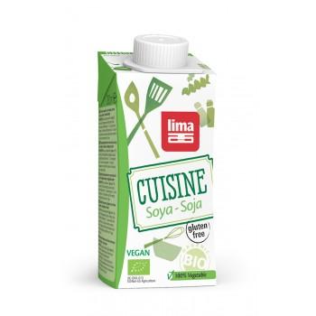 Crema (smantana) de soia bio (200ml), Lima